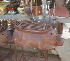 Pig bar b que