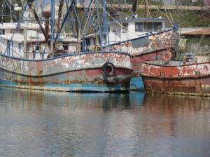rusty shrimp boats