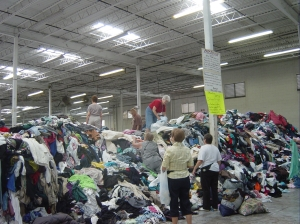 That's a big pile of clothes