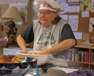 Sue chef, the teacher