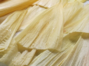 soaked corn husks