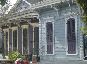 An old house in the French Quarter
