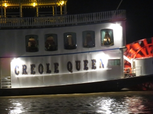 Creole Queen at night