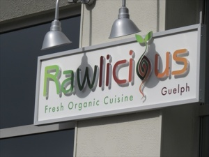 Raw food restaurant
