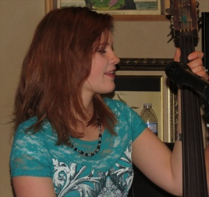 Meghan, the youngest plays the bass.