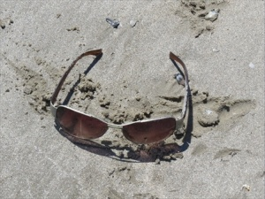 some sunglasses,