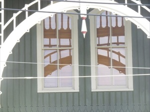 The windows up close.